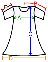 Cotton Clothing Size Chart