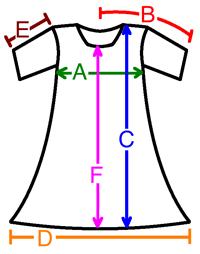 Cotton Dress Size Chart